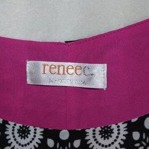 Renee C. Tops - Renee C. Sleeveless Layered Tank Sz S